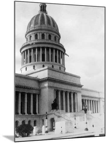 El Capitolio, Havana, Cuba, 1931--Mounted Photographic Print