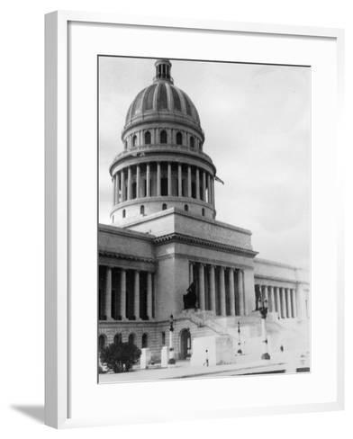 El Capitolio, Havana, Cuba, 1931--Framed Art Print