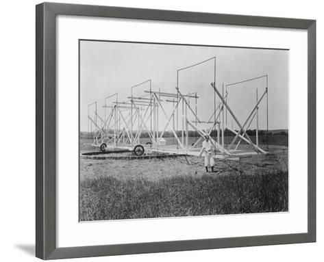 Karl Guthe Jansky, American Physicist and Radio Engineer, C1940--Framed Art Print
