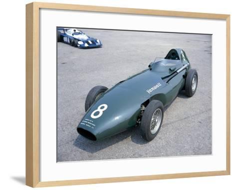 A 1958 Vanwall--Framed Art Print