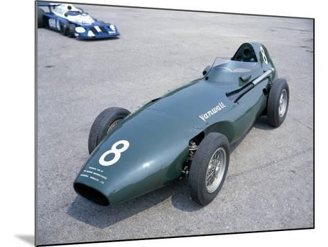 A 1958 Vanwall--Mounted Photographic Print
