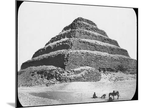 Stepped Pyramid of King Djoser, Saqqara, Egypt, C1890-Newton & Co-Mounted Photographic Print