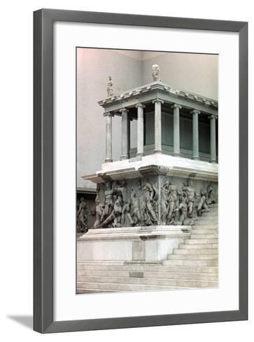 Pergamon Altar, 2nd Century Bc--Framed Art Print