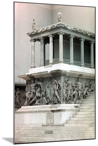Pergamon Altar, 2nd Century Bc--Mounted Photographic Print