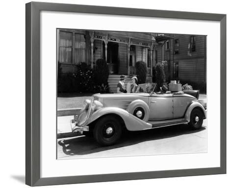 Auburn 8 Convertible Coupe, 1934--Framed Art Print