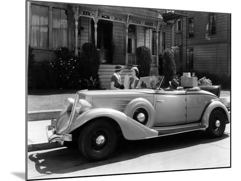 Auburn 8 Convertible Coupe, 1934--Mounted Photographic Print