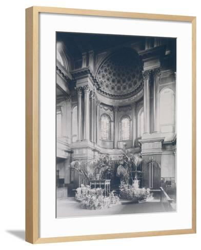 New Synagogue, Great St Helens, London, 1911--Framed Art Print