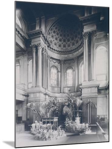 New Synagogue, Great St Helens, London, 1911--Mounted Photographic Print