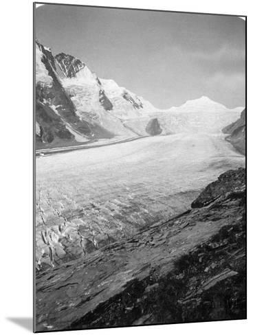 Grossglockner, Hohe Tauern, Austria, C1900s-Wurthle & Sons-Mounted Photographic Print