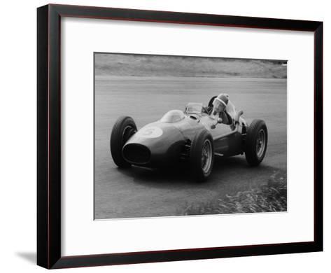 Mike Hawthorn in the Dutch Grand Prix, Zandvoort, 1958--Framed Art Print