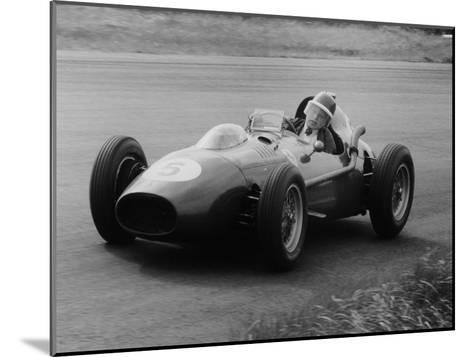 Mike Hawthorn in the Dutch Grand Prix, Zandvoort, 1958--Mounted Photographic Print