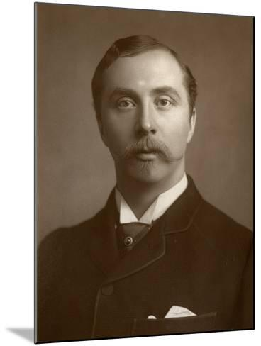 William Hunter Kendal, British Actor and Theatre Manager, 1884--Mounted Photographic Print