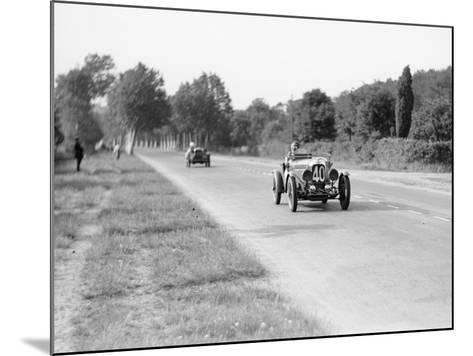 Lagonda Rapier Special, Le Mans 24 Hours, 1934--Mounted Photographic Print