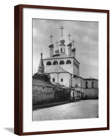 Dormition Cathedral, Krutitsy, Moscow, Russia, 1882- Scherer Nabholz & Co-Framed Art Print