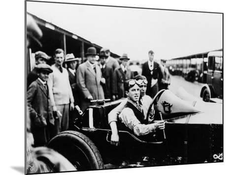 Jack Barclay in a Vauxhall Tt Car at Brooklands, Surrey--Mounted Photographic Print
