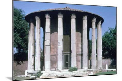 Temple of Vesta, Rome--Mounted Photographic Print