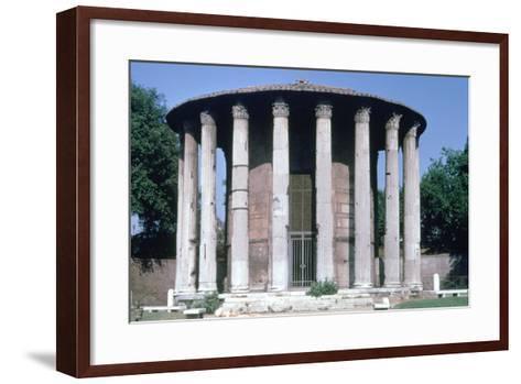 Temple of Vesta, Rome--Framed Art Print