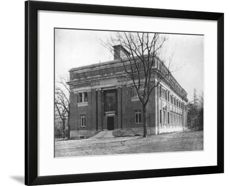 Emerson Hall, Harvard University, Cambridge, Massachusetts, USA, Early 20th Century--Framed Art Print
