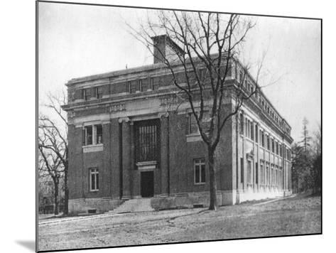 Emerson Hall, Harvard University, Cambridge, Massachusetts, USA, Early 20th Century--Mounted Photographic Print