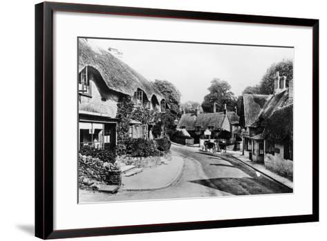 A Street Through Shanklin, Isle of Wight, 1890--Framed Art Print