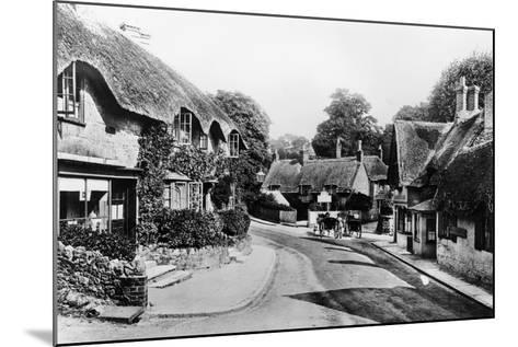 A Street Through Shanklin, Isle of Wight, 1890--Mounted Photographic Print