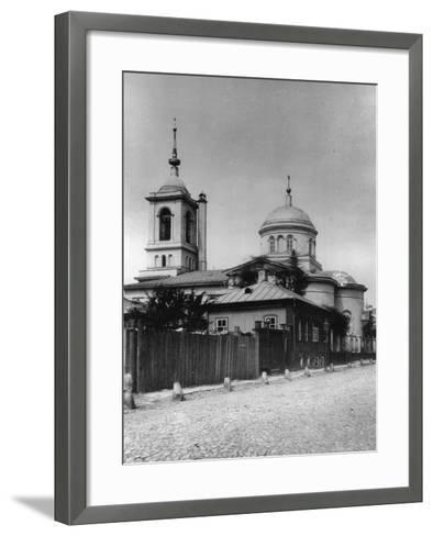 Church of Saints Athanasius and Cyril of Alexandria, Moscow, Russia, 1881- Scherer Nabholz & Co-Framed Art Print