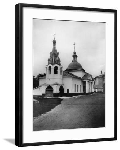 Church of the Descent of the Holy Spirit, Prechistenka, Moscow, Russia, 1881- Scherer Nabholz & Co-Framed Art Print
