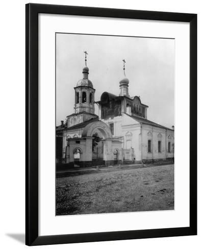 Church of the Holy Martyrs Cosmas and Damian (Ol), Taganka, Moscow, Russia, 1881- Scherer Nabholz & Co-Framed Art Print