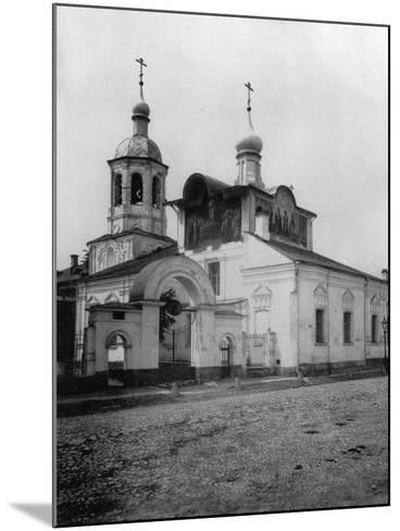 Church of the Holy Martyrs Cosmas and Damian (Ol), Taganka, Moscow, Russia, 1881- Scherer Nabholz & Co-Mounted Photographic Print