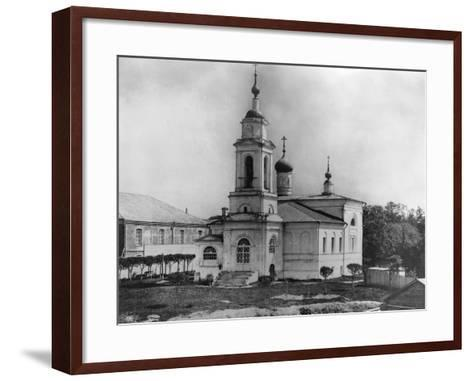 Church of Sabbas the Sanctified, on the Maidens' Field, Moscow, Russia, 1882- Scherer Nabholz & Co-Framed Art Print
