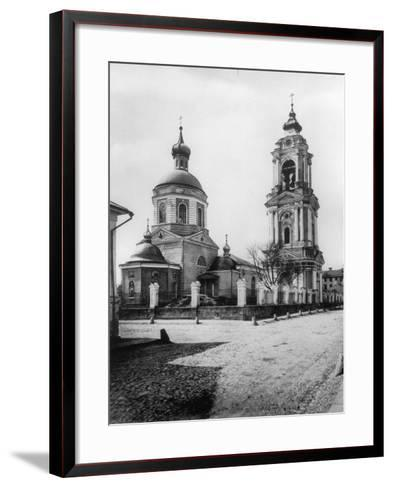 Church of the Resurrection of Christ, Monetchiki, Moscow, Russia, 1881- Scherer Nabholz & Co-Framed Art Print