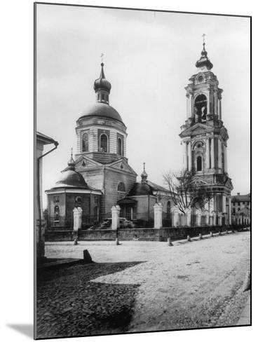 Church of the Resurrection of Christ, Monetchiki, Moscow, Russia, 1881- Scherer Nabholz & Co-Mounted Photographic Print