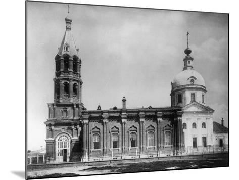Church of St Nicholas the Miracle Maker, New Vagankovo, Moscow, Russia, 1882- Scherer Nabholz & Co-Mounted Photographic Print