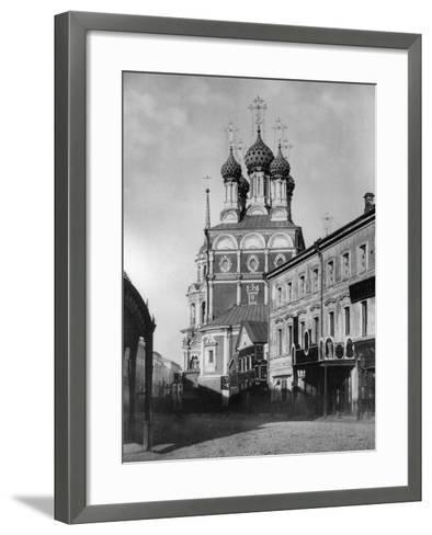 Church of St Nicholas the Miracle Maker (The Big Cros), Moscow, Russia, 1881- Scherer Nabholz & Co-Framed Art Print
