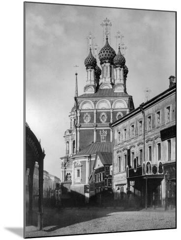 Church of St Nicholas the Miracle Maker (The Big Cros), Moscow, Russia, 1881- Scherer Nabholz & Co-Mounted Photographic Print
