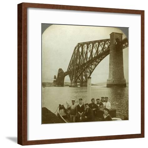 The Forth Bridge, Scotland--Framed Art Print