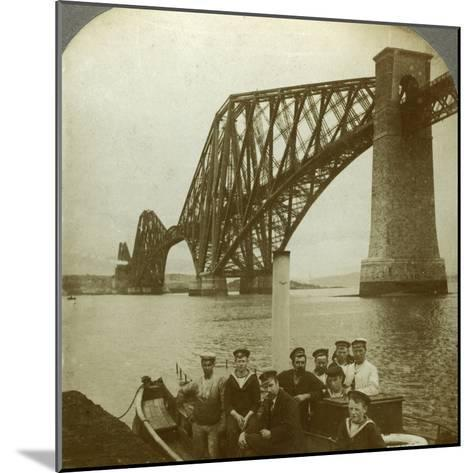 The Forth Bridge, Scotland--Mounted Photographic Print