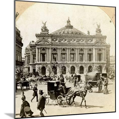 Grand Opera House, Paris, Late 19th Century- Griffith and Griffith-Mounted Photographic Print