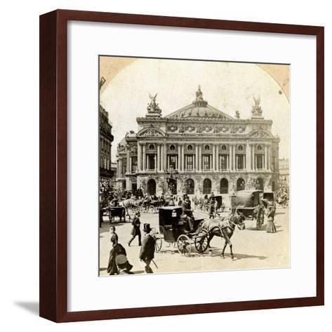 Grand Opera House, Paris, Late 19th Century- Griffith and Griffith-Framed Art Print