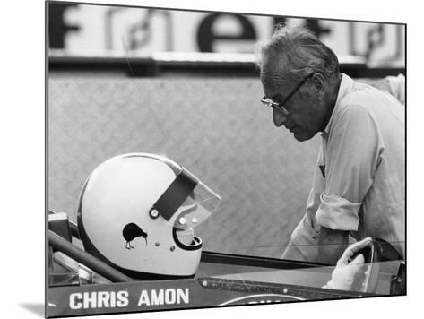 Chris Amon (On the Lef) and David Yorke, 1970S--Mounted Photographic Print