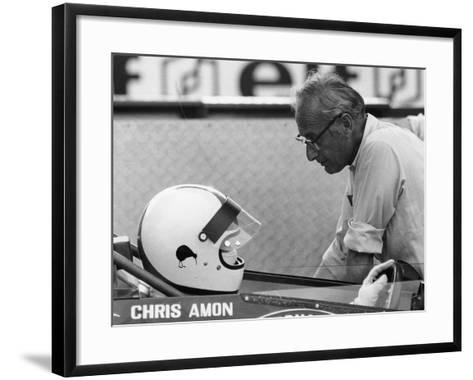 Chris Amon (On the Lef) and David Yorke, 1970S--Framed Art Print