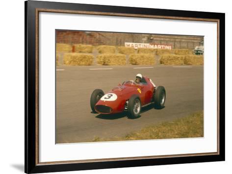 Phil Hill in Action in a Ferrari, Dutch Grand Prix, Zandvoort, 1959--Framed Art Print