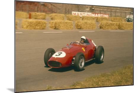 Phil Hill in Action in a Ferrari, Dutch Grand Prix, Zandvoort, 1959--Mounted Photographic Print