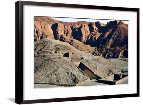 Tomb of Tutankhamun, Karnak, Luxor, Egypt--Framed Art Print