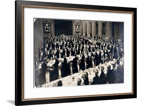 Mansion House, London, 1930--Framed Art Print