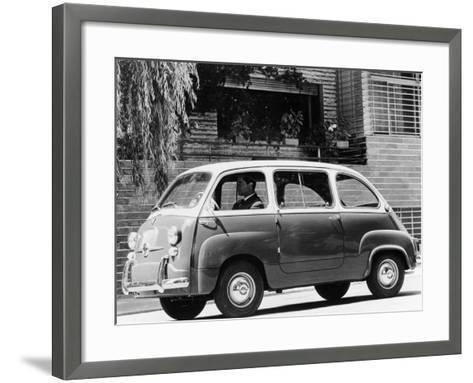 1963 Fiat 600 Multipla, (C1963)--Framed Art Print