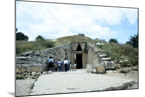 Entrance of a Tumulus at Mycenae, Late Bronze Age, Greece, C1450-C1100 Bc--Mounted Photographic Print