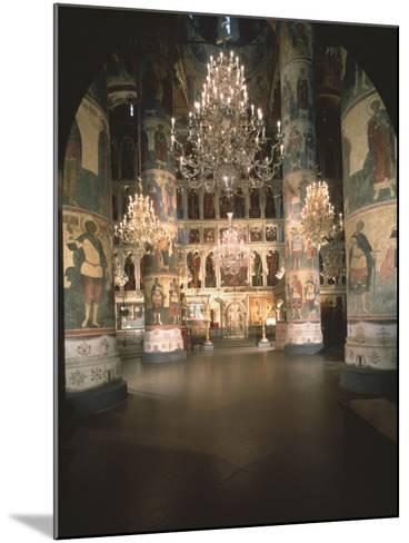 Interior with the Iconostasis in the Assumption of the Blessed Virgin Cathedral--Mounted Photographic Print