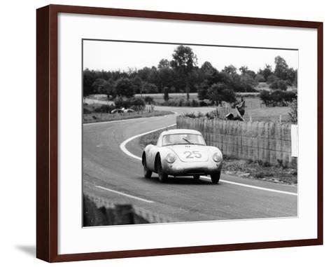 Porsche 550A Rs Coupe, Le Mans 24 Hours, France, 1956--Framed Art Print