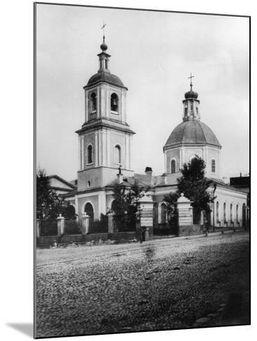 Church of the Entry of the Most Holy Theotokos into the Temple, Moscow, Russia, 1881- Scherer Nabholz & Co-Mounted Photographic Print